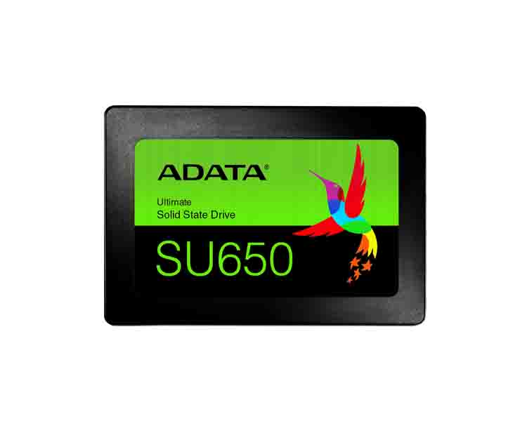 External hard drive: A-DATA Ultimate SSD SU650 2.5