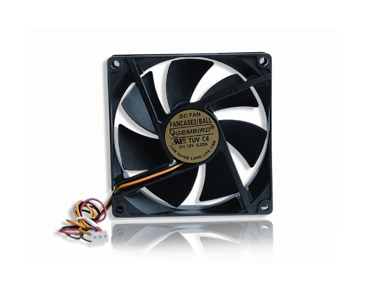 fan: Gembird FANCASE2 90 mm PC case fan ball bearing