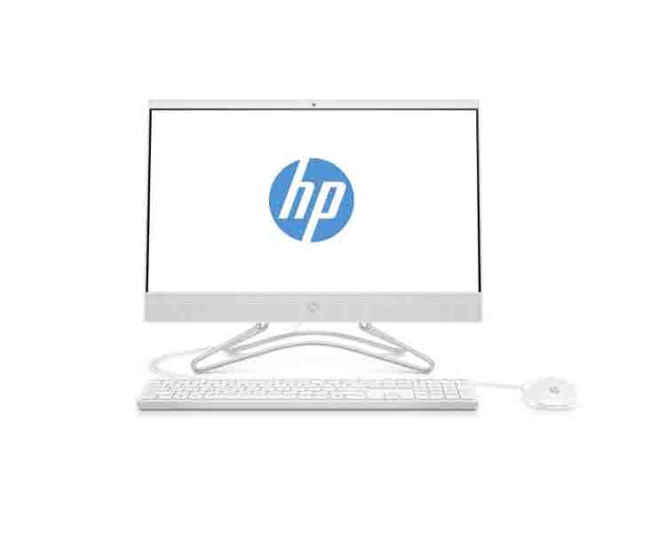 "All IN ONE Computer: HP 200 G3 AIO 21.5"" FHD Intel i3-8130u 3.4Ghz 4GB 1TB White - 3VA40EA"