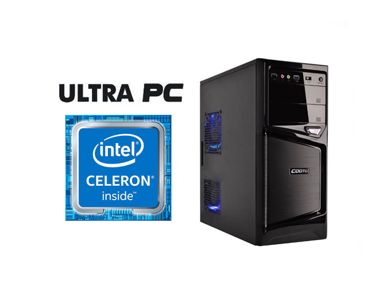 ULTRA PC Intel Celeron G3930 ASUS H110M-R C SI 500GB 4GB