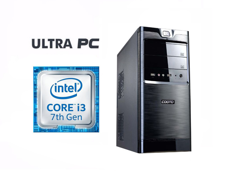 ULTRA PC: Intel i3-7100 ASUS H110M-R C SI SSD 128GB 4GB