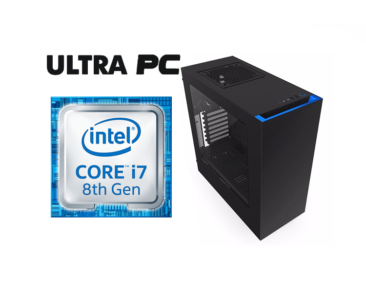 ULTRA PC Intel Core i7-8700K Z370P D3 1TB 16GB GTX1070 DUAL 8GB