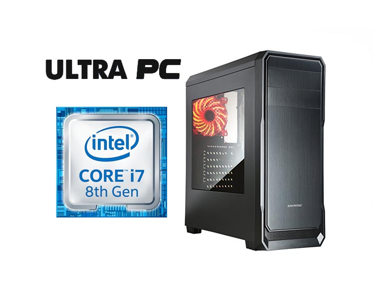 ULTRA PC Intel Core i7-8700 TUF B360M-E GAMING 1TB 8GB GTX1060 6GB