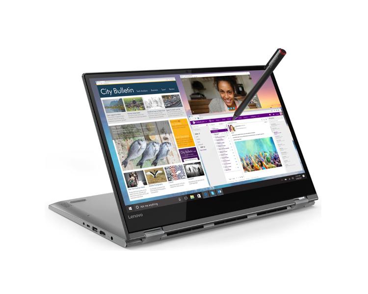 """ნოუთბუქი: Lenovo Yoga 530 14"""" FHD  Intel  Core I5-8250U  8GB  256GB  MX130 2GB No  ODD  WIN10H Black - 81EK007ERU"""