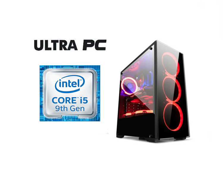 ULTRA PC Intel Core i5-9400F ASUS PRIME H310M-R SSD  256GB 8GB GTX1650 4GB