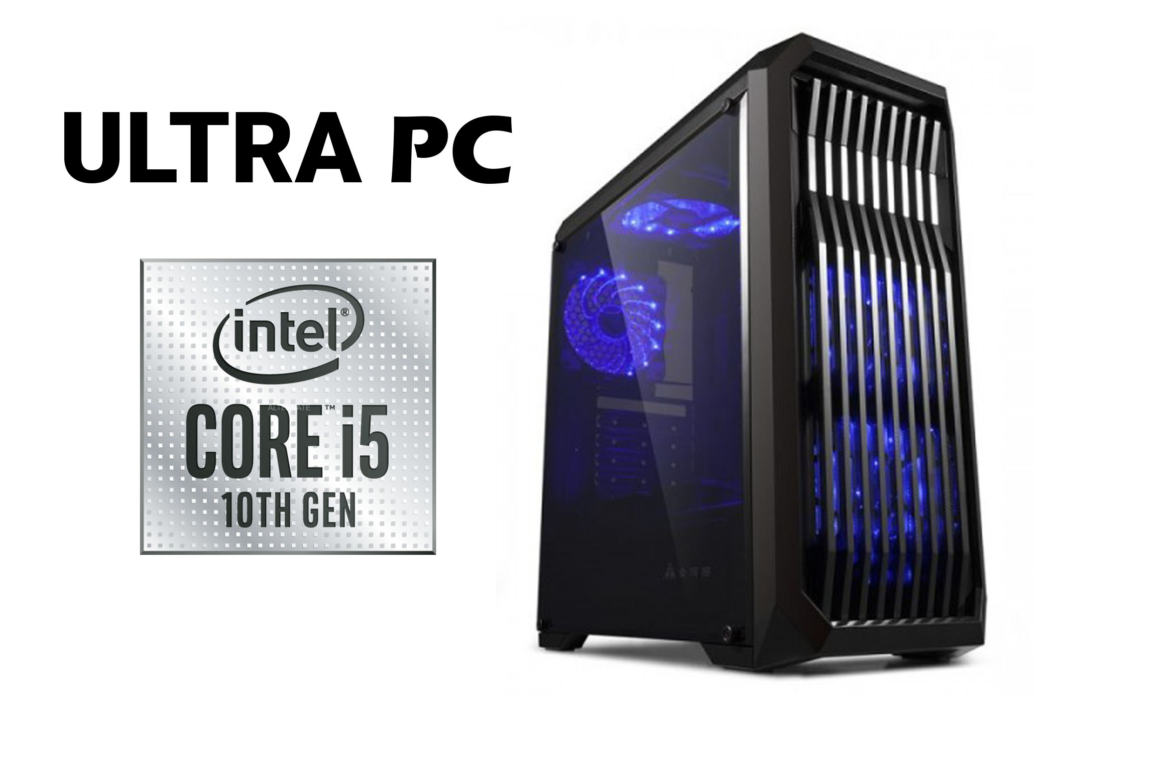 ULTRA PC  Intel Core i5-10400F Asus Prime H410M-R-SI SSD 256GB 8GB
