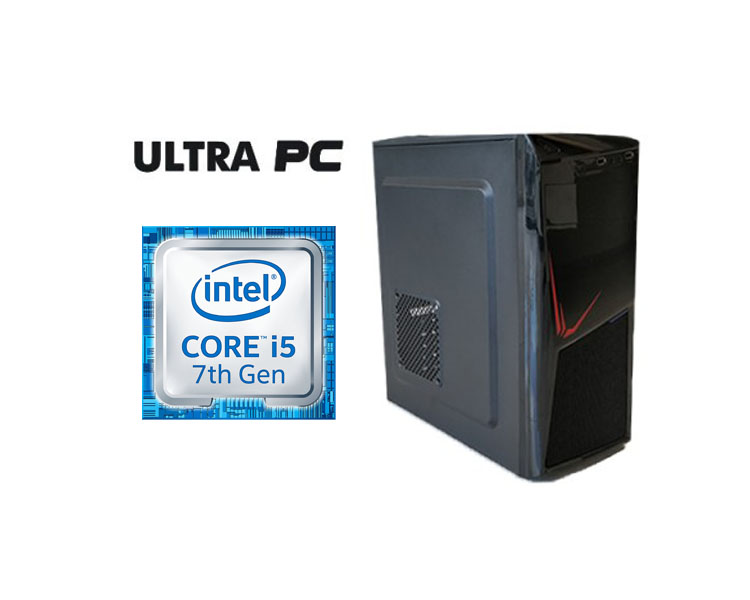 ULTRA PC Intel Core i5-7400 ASUS H110M-K 128 GB 4 GB