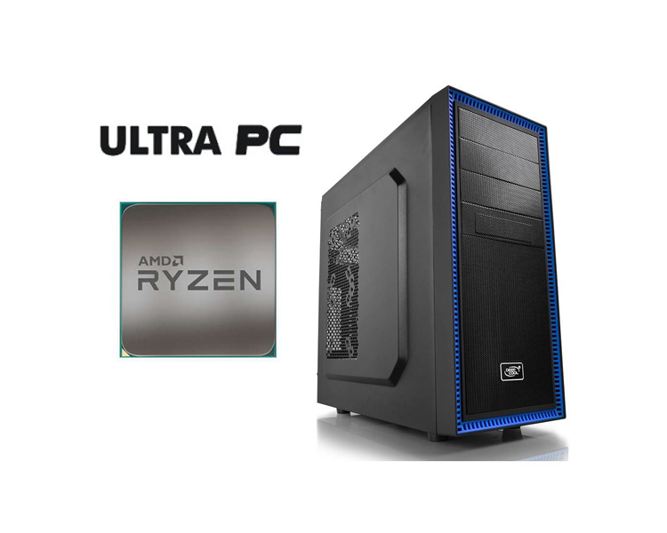 ULTRA PC ASUS PRIME A320M-K AM4 AMD Ryzen 7 1700 8GB 1TB Zotac GTX1060 3GB