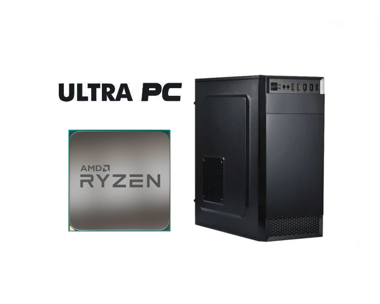 ULTRA PC ASUS PRIME A320M-K AMD Ryzen 3 2200G 8GB 500GB
