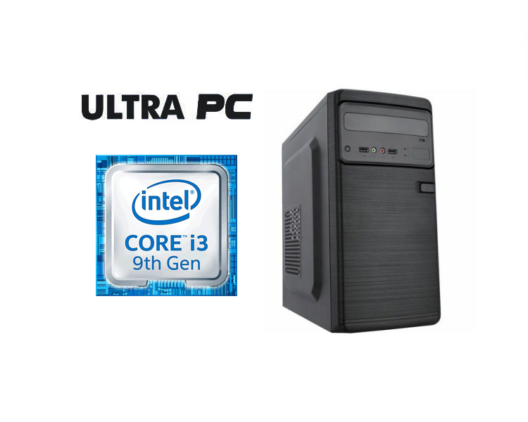 ULTRA PC Intel Core i3-9100 ASUS PRIME H310M-R SSD 240GB 8GB