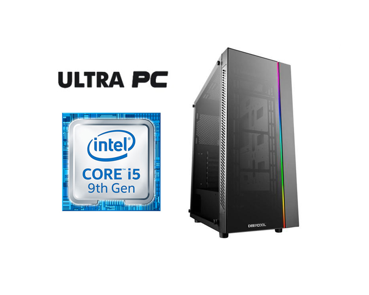 ULTRA PC Intel Core i5-9400F GIGABYTE B360M H 1TB 120GB 8GB GTX1060 6GB