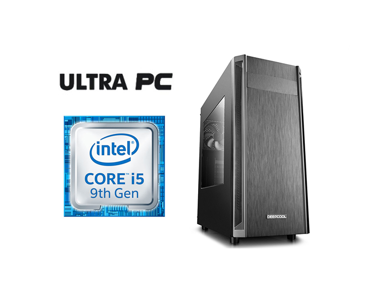 ULTRA PC Intel Core i5-9400F ASUS PRIME H310M-R  500GB 8GB GTX1050 2GB
