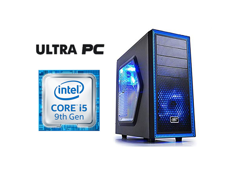 ULTRA PC Intel Core i5-9400F ASUS PRIME H310M-R  SSD 256GB 8GB GTX1060 3GB