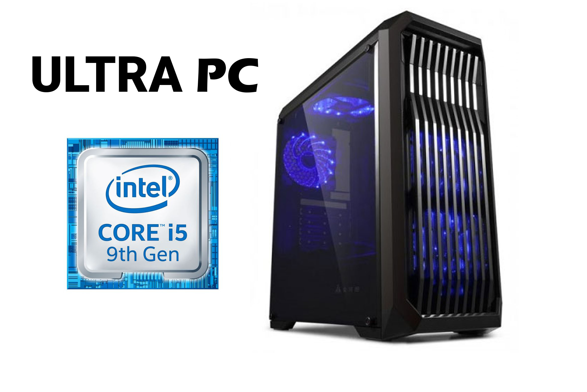 ULTRA PC Intel Core i5-9400F ASUS PRIME B365M-K SSD 240 GB 16 GB 1660 Ti GAMING X 6G