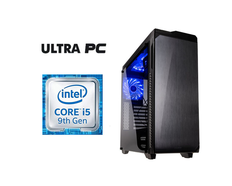 ULTRA PC Intel Core i5-9600K GIGABYTE Z370M DS3H HDD 500GB SSD 256GB 16GB GTX1050 3GB