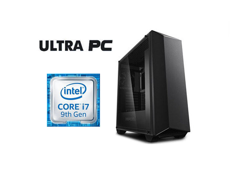 ULTRA PC Intel Core i7-9700k GIGABYTE Z390 GAMING X HDD 1TB SSD 240GB 16GB GTX2080 8GB