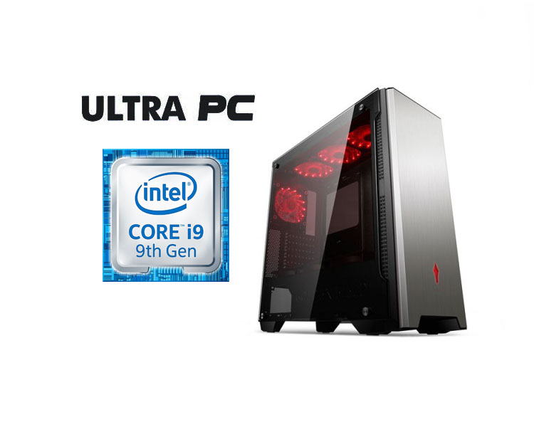ULTRA PC Intel Core i9-9900KF ASUS PRIME Z390-P SSD 256GB 16 GB GTX1660TI 6GB