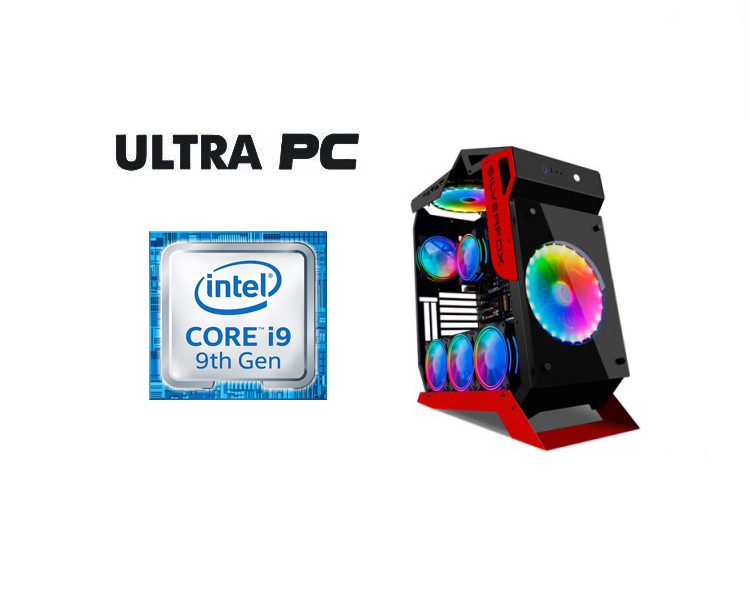 ULTRA PC Intel Core i9-9900KF ASUS TUF Z390-PLUS GAMING HDD 2TB SSD 512GB 64 GB RTX2080 SUPER 8GB