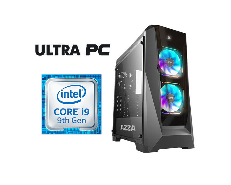 ULTRA PC Intel i9-9900K GIGABYTE Z390 GAMING X 32GB SSD 480GB HDD 1TB RTX 2080 8GB